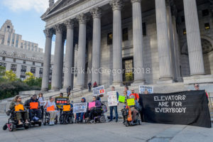 MTA court settlement hearing on disability rights